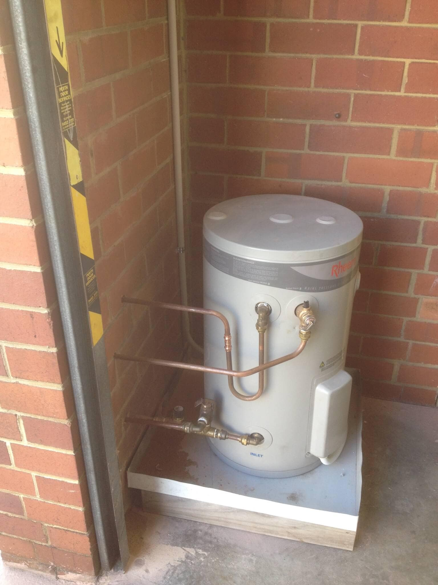 Everyday Plumbers Residential Hotwater Services - Machine Setup with New Platform