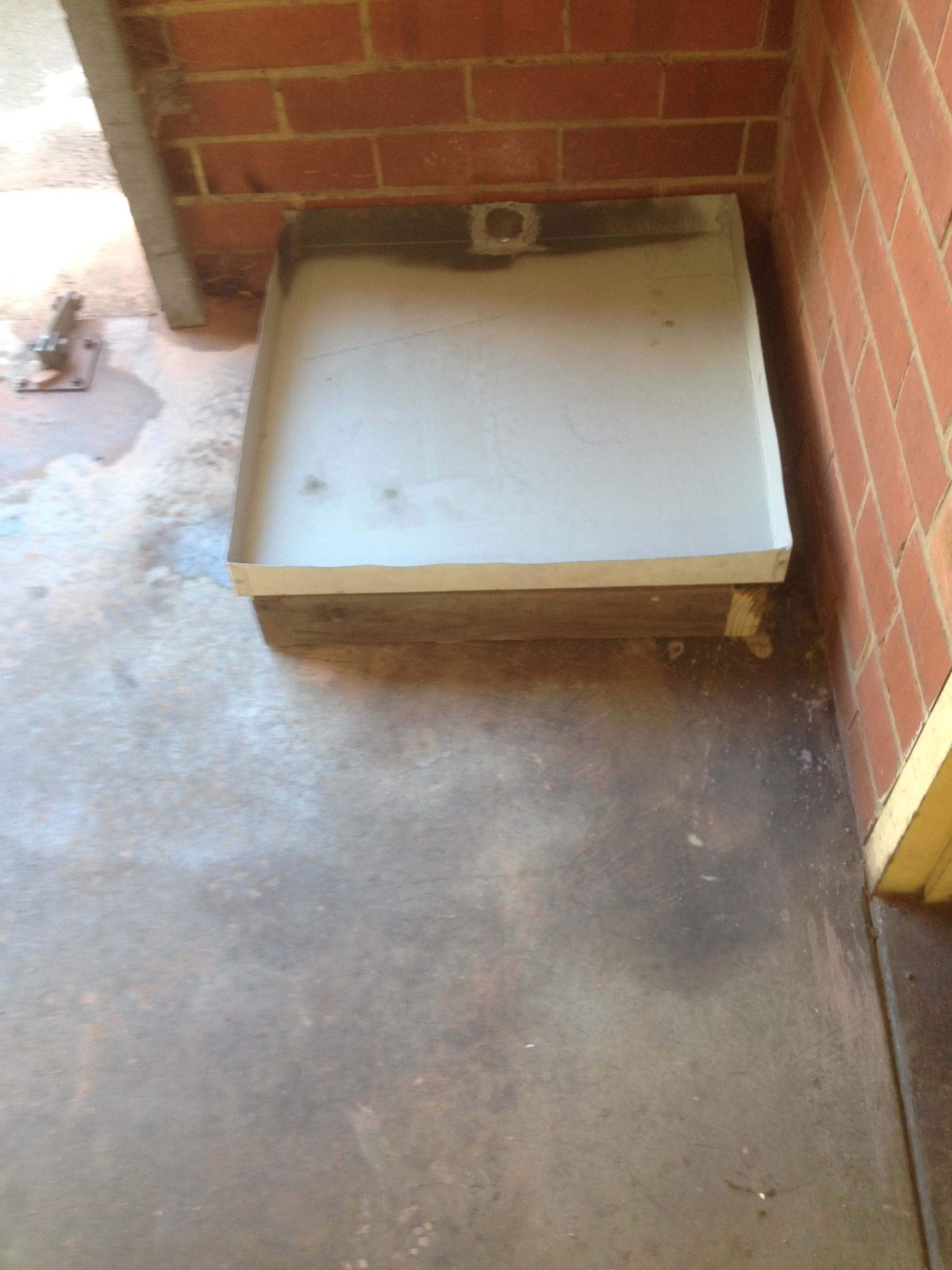 Everyday Plumbers Residential Hotwater Services - Outside Machine Platform Setup 1