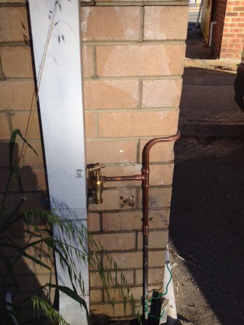 Everyday Plumbers Residential Leak Detection and Repair - Copper Piping Replacement 0708