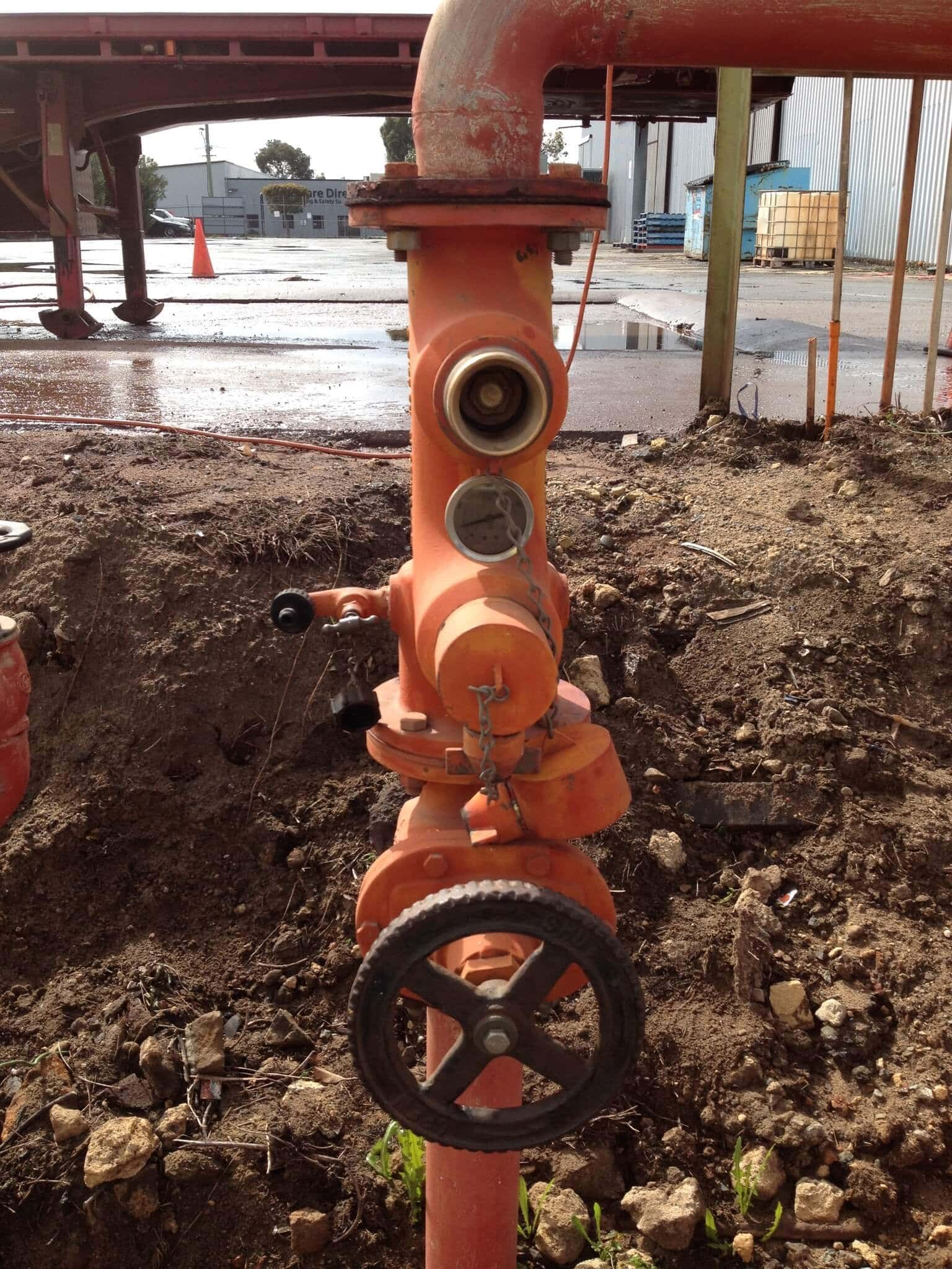 Everyday Plumbers Fire Hydrants Repair and Monitoring - Front Controls 2152