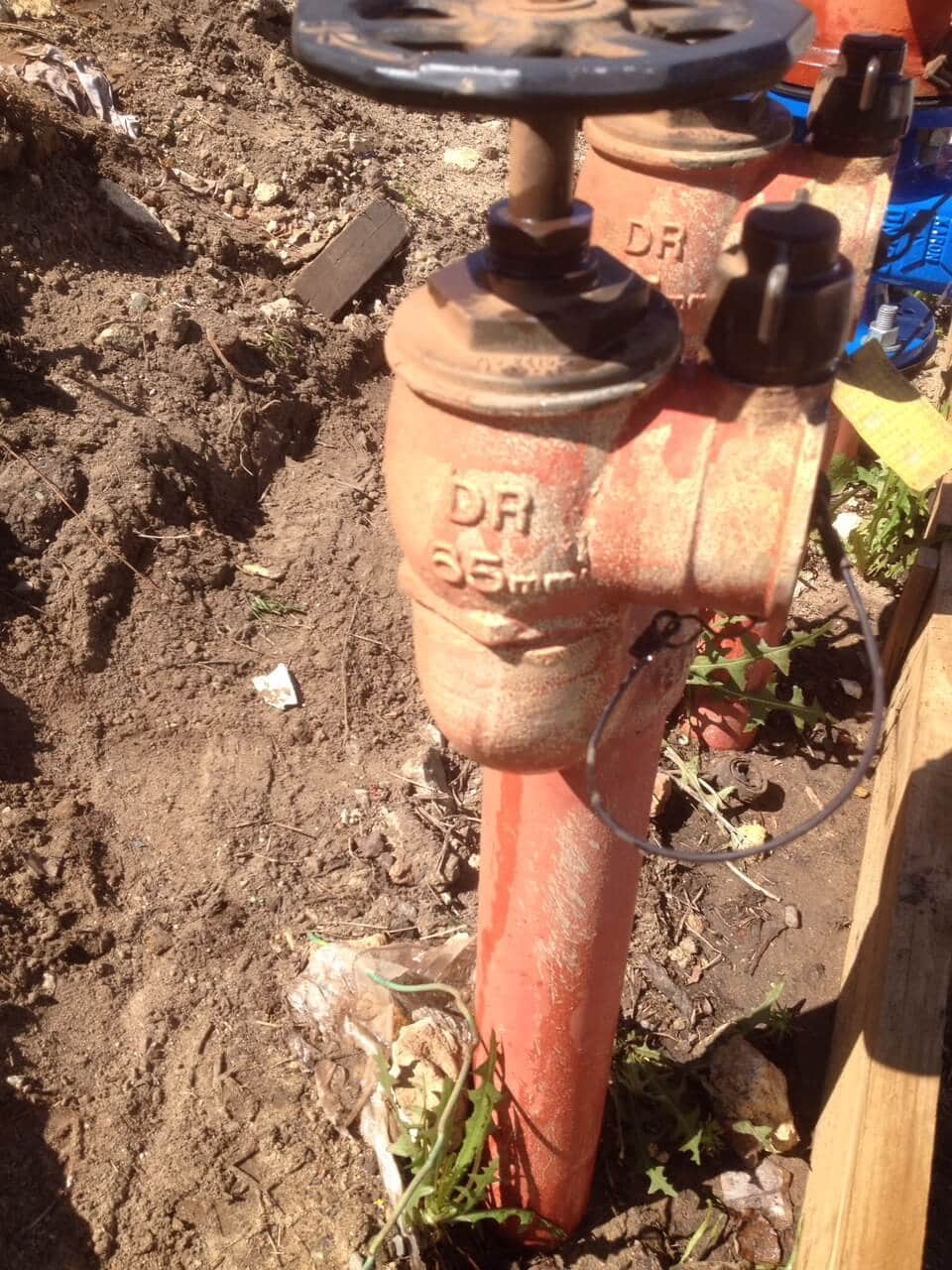 Everyday Plumbers Fire Hydrants Repair and Monitoring - Front Controls Close View2229