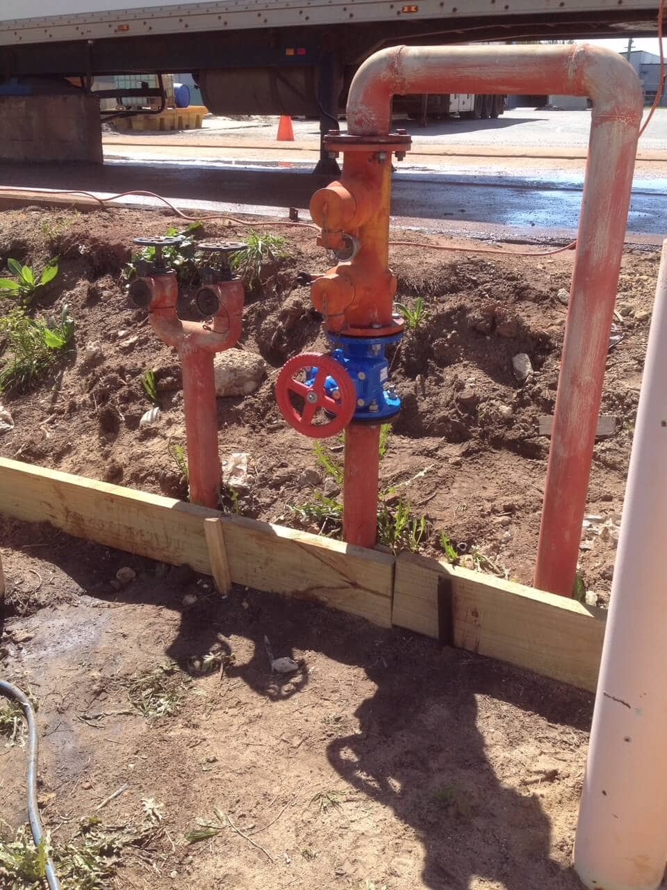 Everyday Plumbers Fire Hydrants Repair and Monitoring - Full View of the Setup 2225