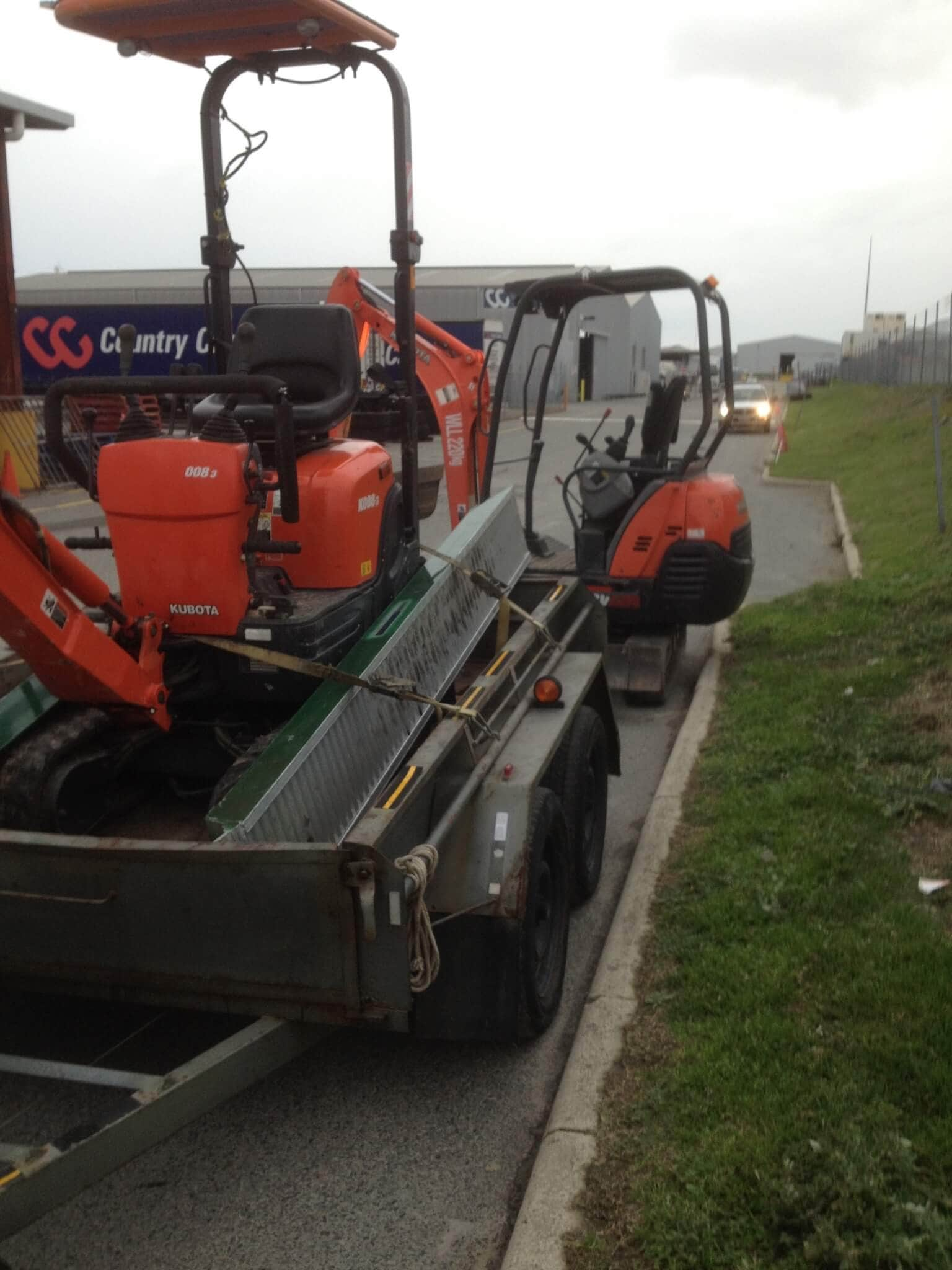 Everyday Plumbers Residential New Leach Drain Backfilling - Heavy Equipment in Service 2180-1