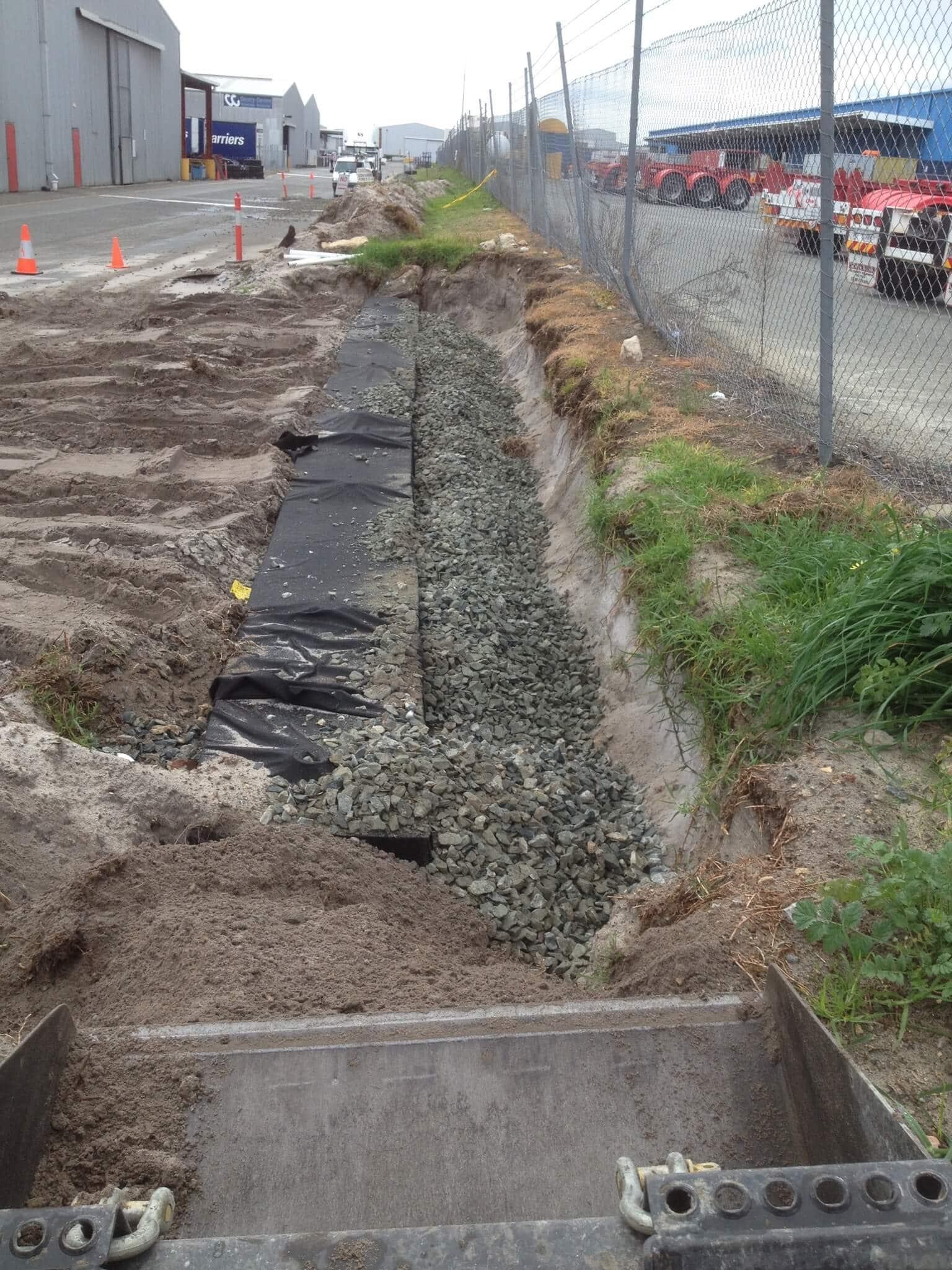 Everyday Plumbers Residential Drain Repair - Sewer Repair in Progress 2147