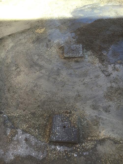 Everyday Plumbers Residential Septic Leach and Drain Repair - Tampered Leach Drain 792