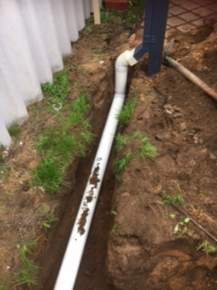 Everyday Plumbers Residential Storm Water Management - Soakwell Installation and Piping 2880