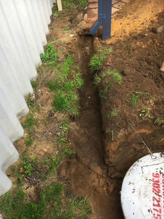 Everyday Plumbers Residential Storm Water Management - Soakwell Installation and Setup s8
