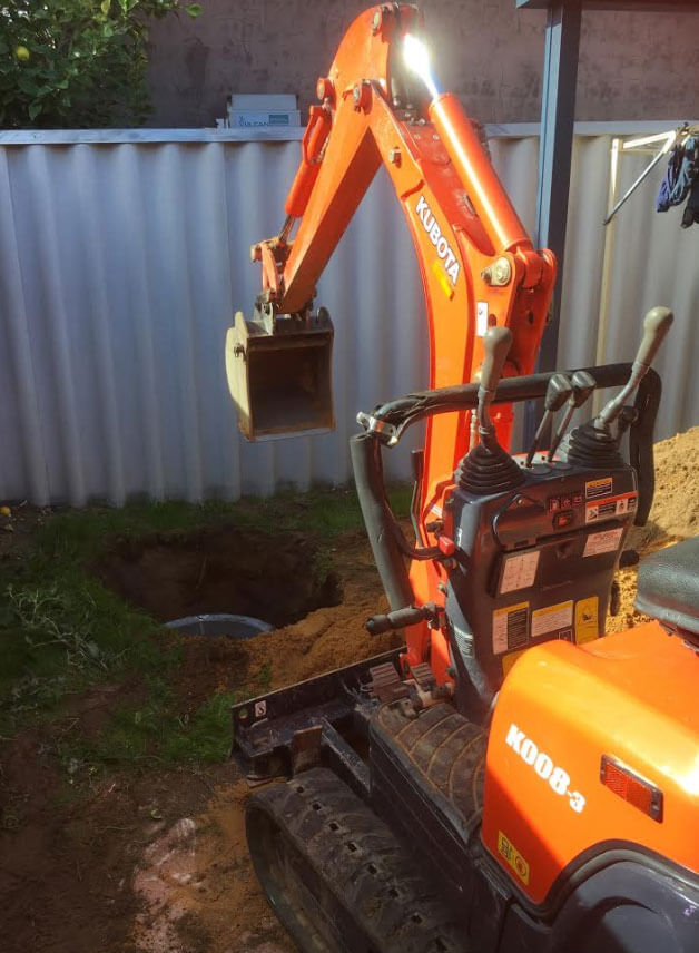 Everyday Plumbers Residential Storm Water Management - Soakwell Installation
