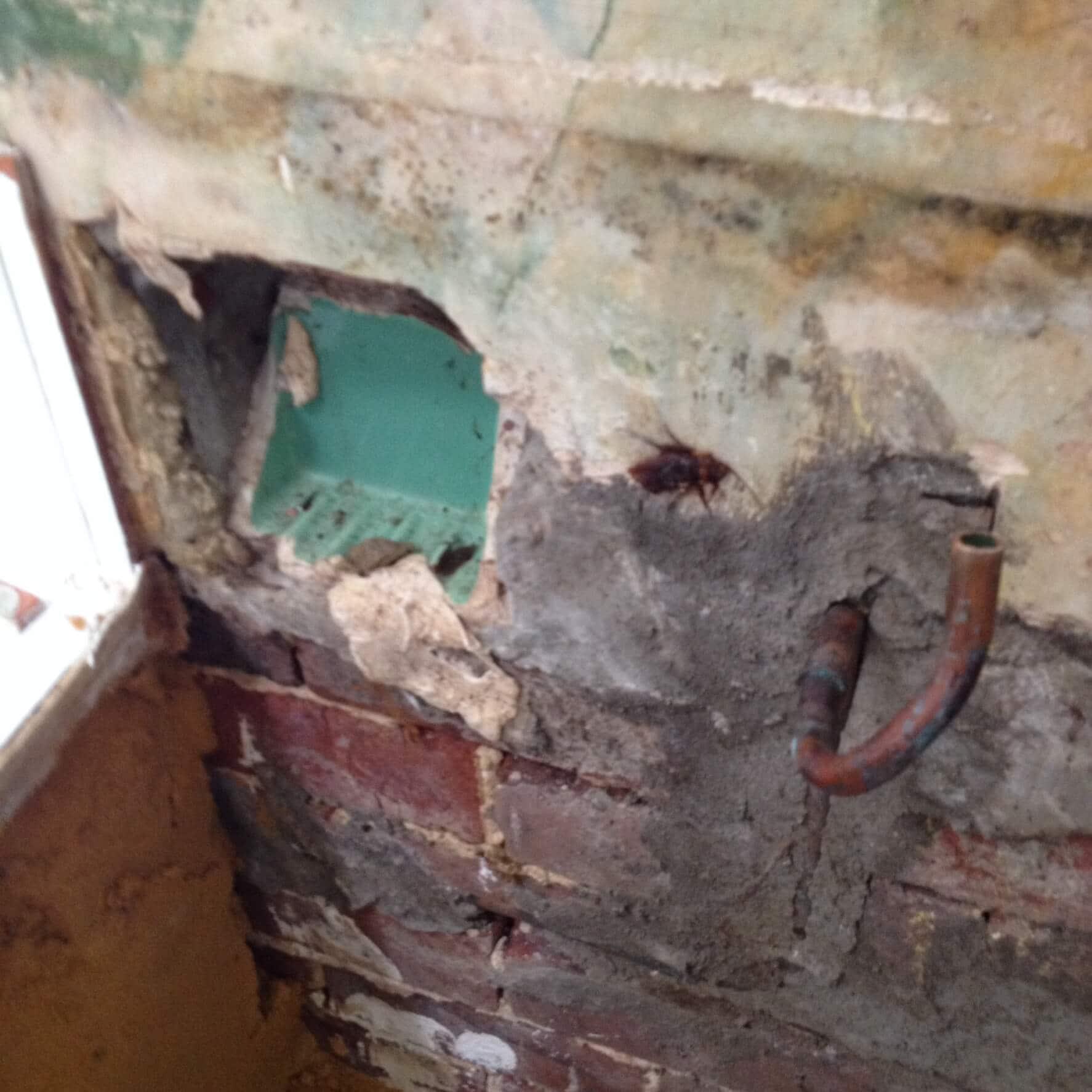 Everyday Plumbers Residential Vanity Basin Repairs - Basin Repair in Progress 0392